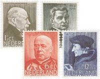 Holland 1936 - NVPH 283-286 - Ubrugt