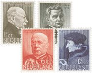 Holland 1936 - NVPH 283-286 - Ubrugt