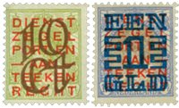 Holland 1923 - NVPH 132-133 - Ubrugt