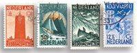 Pays-Bas - NVPH 257-260 - Oblitéré