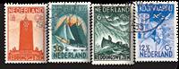 Holland 1933 - NVPH 257-260 - Stemplet