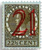 Holland 1929 - NVPH 224 - Ubrugt