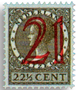 Netherlands 1929 - NVPH 224 - Unused
