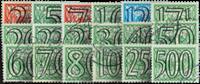 Nederland 1940 - Nr. 356-373 - Gebruikt