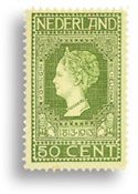 Holland 1913 - NVPH 97 - Ubrugt