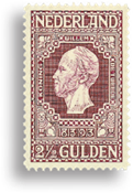 Holland 1913 - NVPH 99 - Ubrugt