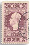 Holland 1913 - NVPH 99 - Stemplet