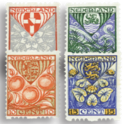 Netherlands 1926 - NVPH R74-R77 - Unused