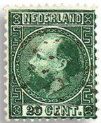 Holland 1867-1868 - NVPH 10 - Stemplet