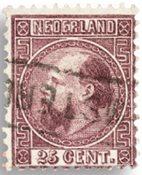 Nederland Koning Willem III 1867-1868 - Nr. 11 - Gebruikt