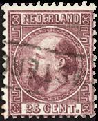 Nederland - Koning Willem III 1867-1868 (nr. 11, gebruikt)