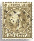 Nederland Koning Willem III 1867-1868 - Nr. 12 - Gebruikt