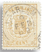 Holland 1869-1871 - NVPH 17 - Stemplet
