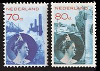 Holland - NVPH 236-237 - Ubrugt