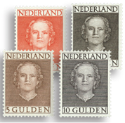 Holland 1949 - NVPH 534-537 - Ubrugt