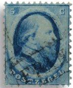 Holland 1864 - NVPH 4 - Stemplet