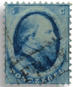 Holland 1864 - NVPH 4 - Stemplet