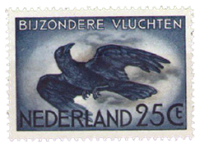 Nederland - Zegel voor bijzondere vluchten (LP14, postfris)