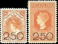 Holland 1920 - NVPH104-105 - Ubrugt