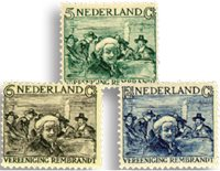 Holland 1930 - NVPH 229-231 - Ubrugt