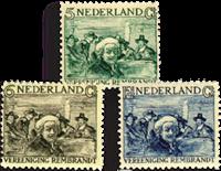 Holland 1930 - NVPH 229-231 - Ubrugt