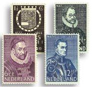 Pays-Bas - NVPH 252-255 - Neuf avec charnière