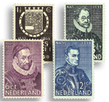 Holland 1933 - NVPH 252-255 - Ubrugt