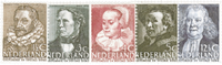 Netherlands 1938 - NVPH 305-309 - Mint