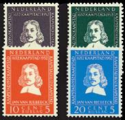 Nederland 1952 - Nr. 578-581 - Postfris
