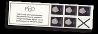 Holland - frimærkehæfte 6d