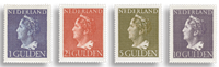 Nederland - Nr. 346-349 - Postfris