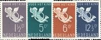 Netherlands 1936 - NVPH 289-292 - Mint