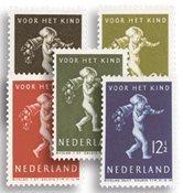 Holland 1939 - NVPH 327-331 - Ubrugt