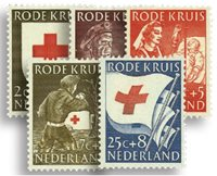 Holland 1953 - NVPH 607-611 - Postfrisk