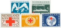 Holland 1957 - NVPH 695-699 - Postfrisk