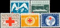 Nederland 1957 - Nr. 695-699 - Postfris