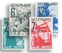 Pays-Bas - NVPH 244-247 - Neuf avec charnière