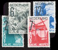 Holland 1932 - NVPH 244-247 - Ubrugt