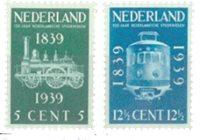 Holland 1939 - NVPH 325-326 - Ubrugt