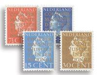 Nederland Cour de Justice 1940 - Nr. D16-19 - Postfris