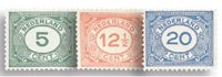 Holland 1921-1922 - NVPH 107-109 - Ubrugt