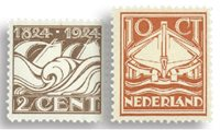 Holland 1924 - NVPH 139-140 - Ubrugt