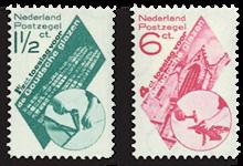 Holland 1931 - NVPH 238-239 - Ubrugt