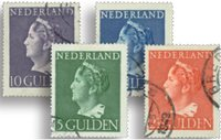Holland 1946 - NVPH 346-349 - Stemplet