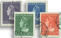 Holland 1946 - NVPH 346-349 - Stemplet