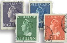 1946 - nr. 346-349, gebruikt