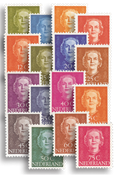 Holland 1949-51 - NVPH 518-533 - Ubrugt