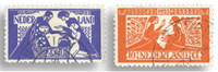 Holland 1923 - NVPH 134-135 - Stemplet