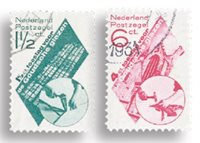 Holland 1931 - NVPH 238-239 - Stemplet