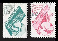 Holland 1931 - NVPH 238-239 - Stemplet